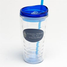 Jaarsma Acrylic Glass with Straw