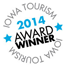 2014 Iowa Tourism Award logo